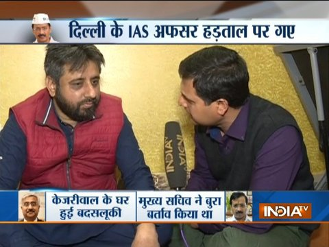 AAP MLA Amanatullah Khan rejects allegation of assaulting Delhi Chief Secretary