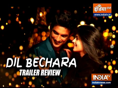 Dil Bechara Trailer Review: Sushant Singh Rajput's last film celebrates life and love
