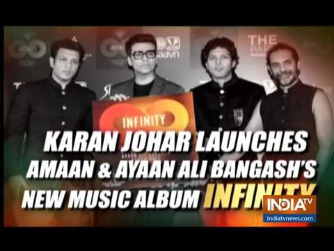 करण जौहर ने लॉन्च किया Infinity एल्बम, अभिषेक बच्चन भी आएं नज़र