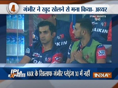 IPL 2018: Delhi Daredevils beat Kolkata Knight Riders; CSK face rivals Mumbai Indians