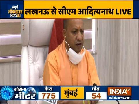 CM yogi addresses people on Coronavirus