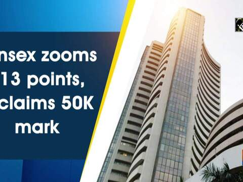 Sensex zooms 613 points, reclaims 50K mark
