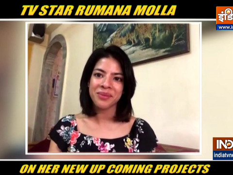 TV star Rumana Molla talks about her upcoming project