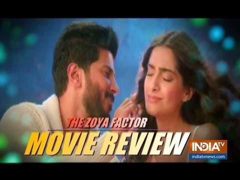 Movie Review: सोनम कपूर की कमजोर फिल्म 'द जोया फैक्टर' में चमके दुलकर सलमान