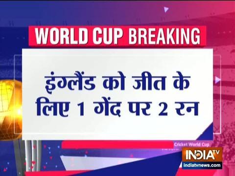 स्टोक्स 84* की दमदार पारी के दम पर इंग्लैंड ने न्यूजीलैंड के खिलाफ टाई किया मुकाबला, सूपर ओवर से विजेता का होगा फैसला