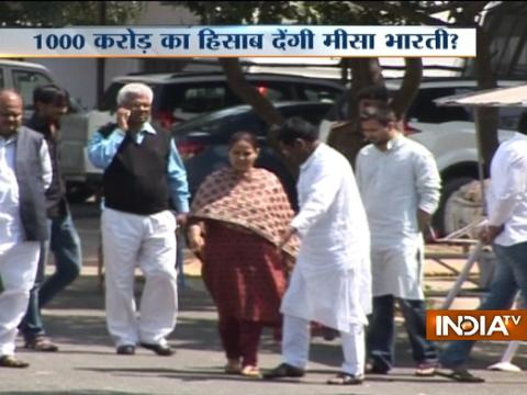 Misa Bharti to appear before IT Department in alleged money laundering case