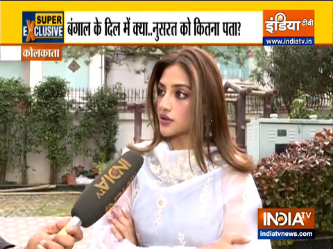 Didi understands the emotion of Bengal: TMC's Nusrat Jahan on party's new slogan
