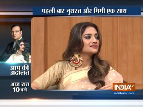 TMC MP Nusrat Jahan opens up on her marriage in Aap Ki Adalat