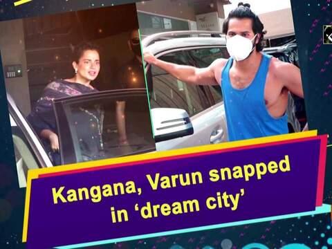 Kangana, Varun snapped in 'dream city'
