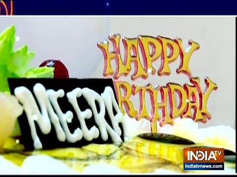 मीरा ने सास बहू और सस्पेंस के साथ मनाया जन्मदिन