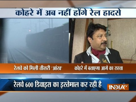 Indian railways to use GPS-enabled safety devices to help guide trains through fog