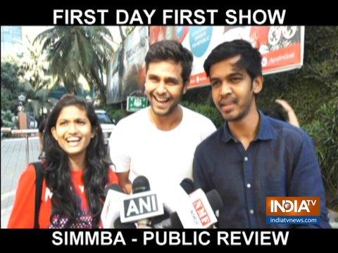 Audience gives thumbs up to Ranveer Singh, Sara Ali Khan's Simmba