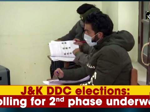 J-K DDC elections: Polling for 2nd phase underway