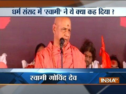 Swami Govind Dev makes controversial statement, advises hindus to have atleast 4 kids
