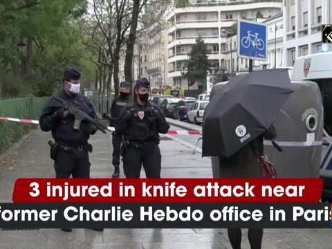 3 injured in knife attack near former Charlie Hebdo office in Paris